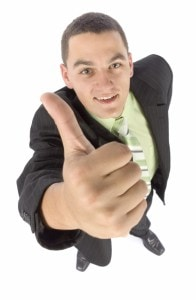 Auto TitleLoan Guy with thumbs up