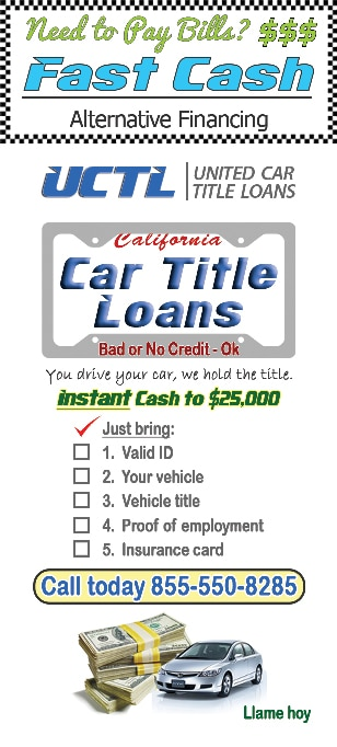 UCTL Pay bills - Fast Auto Title Loan
