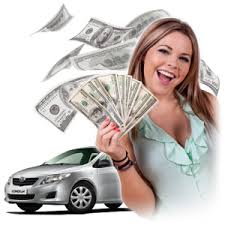Auto title loan cash girl car